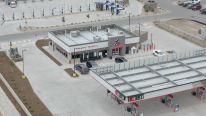 Ktk General Contracting – Maverick Gas Station